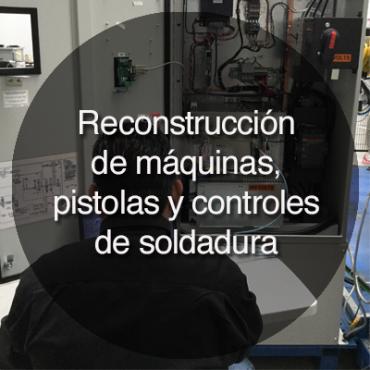 reconstrucción de máquinas