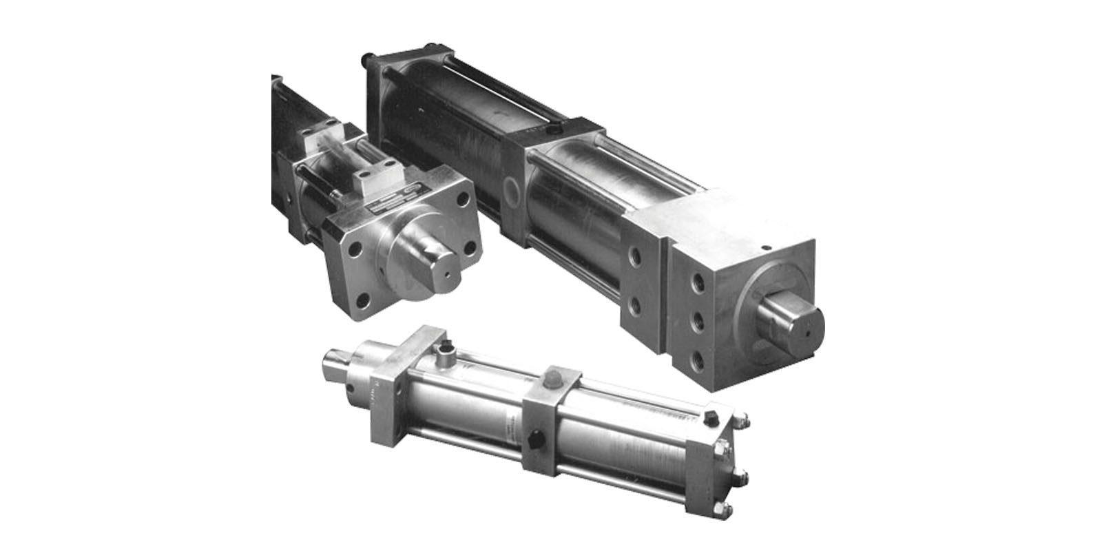 cilindros y actuadores para soldadura