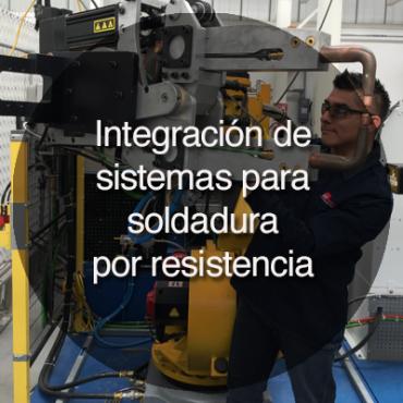 integración de sistemas para soldadura