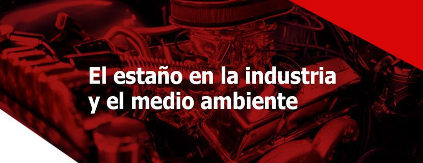 estaño en la industria