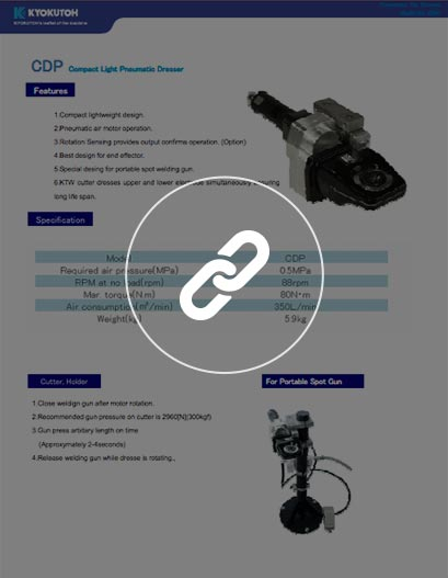 Afilador neumático de electrodos CDP