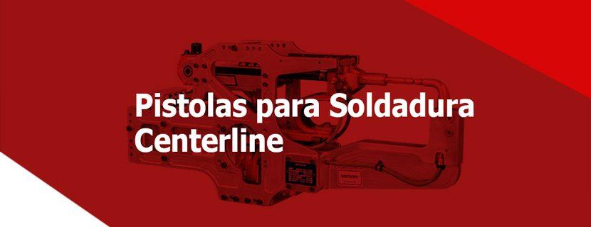 tipos de pistolas para Soldadura por Resistencia
