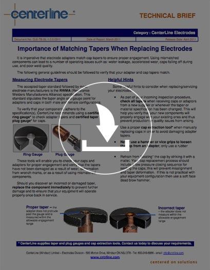 Guía técnica para el cambio de adaptadores y electrodos