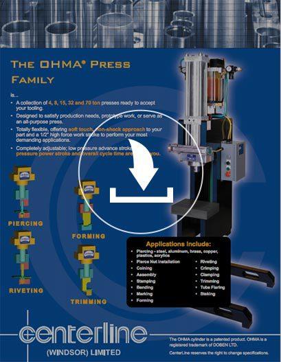 Paquetes de Prensas tipo OHMA