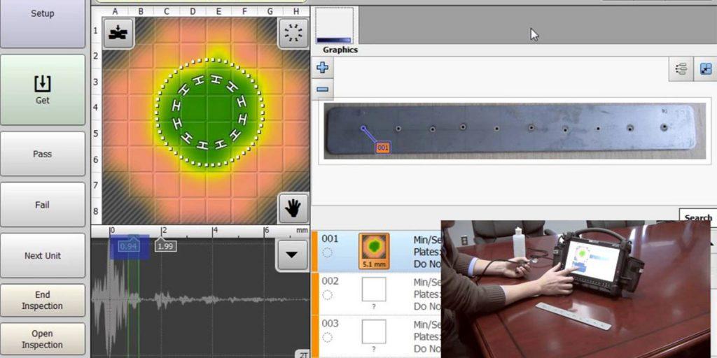 medidor de ultrasonido para soldadura RSWA