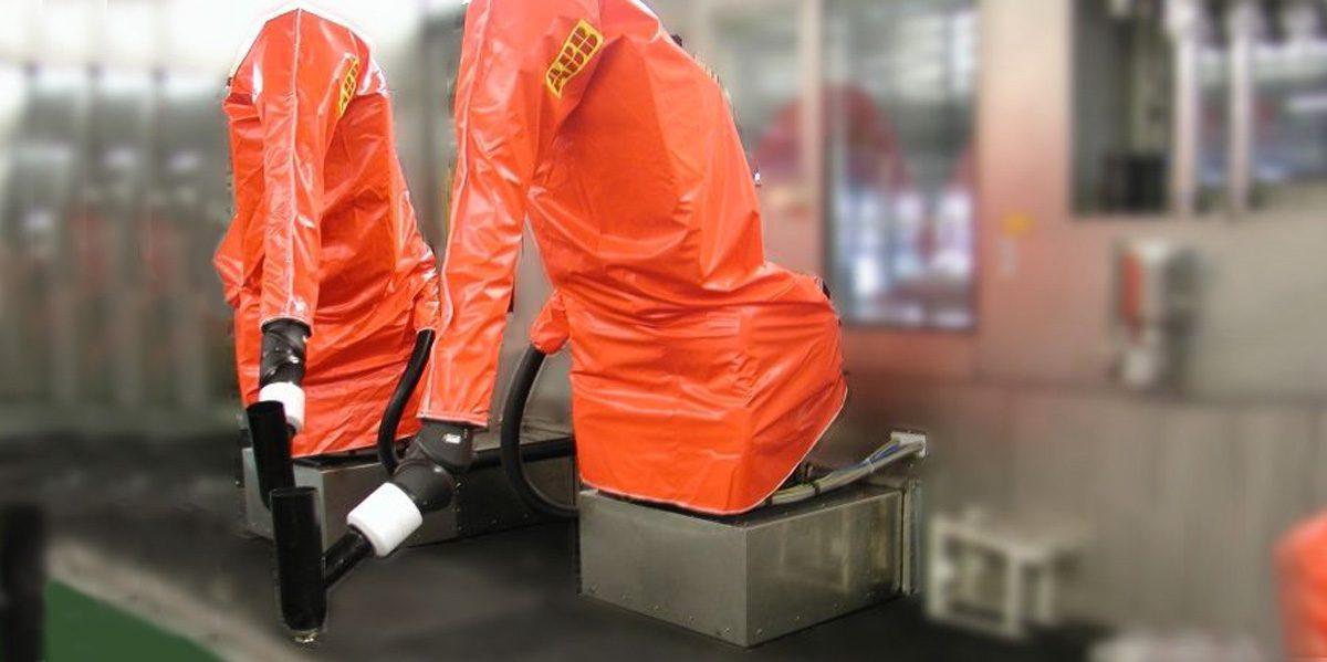 fundas de protección para robots