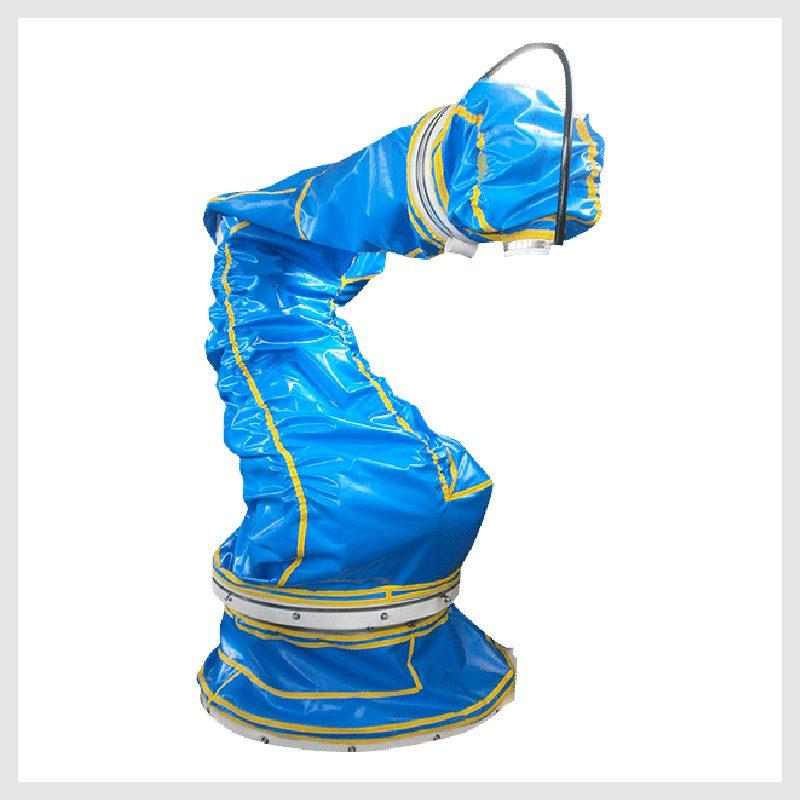 Cubiertas de protección para robots, equipos de pintura y soldadura