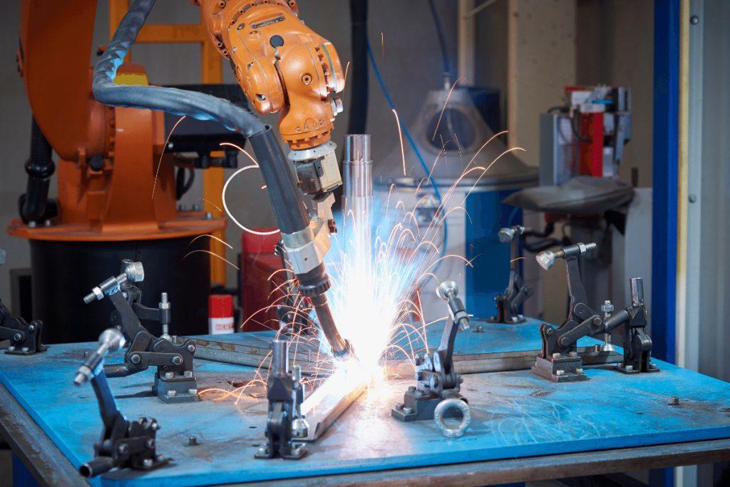 automatización de soldadura para PyMES